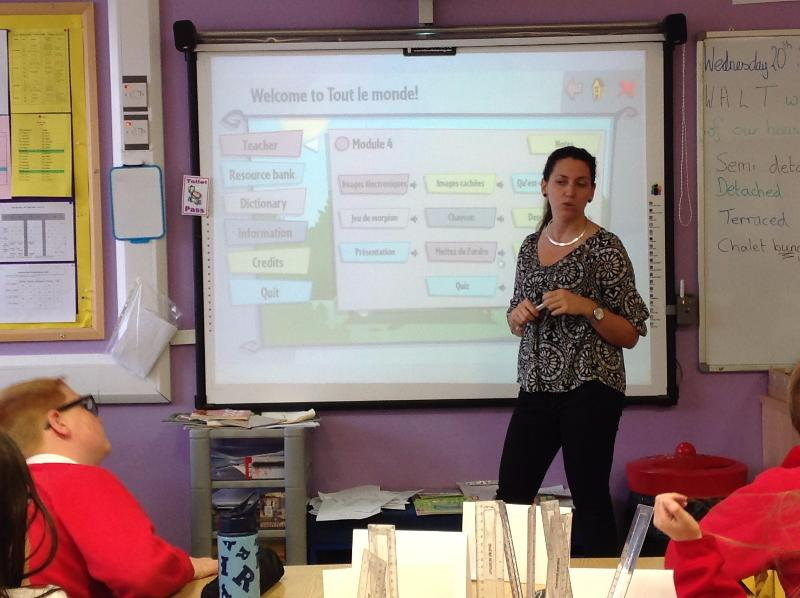 Wednesday - French club for P4 - P7 children