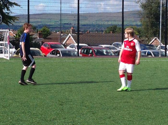 Monday - Football club for P6 and P7 children