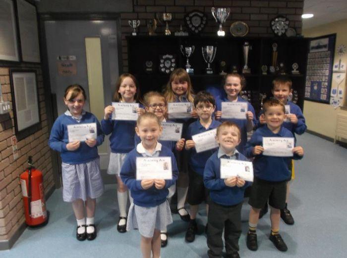 Ace winners 12 May 2017