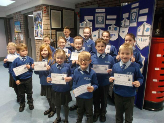 Academy Ace winners 2 December 2016