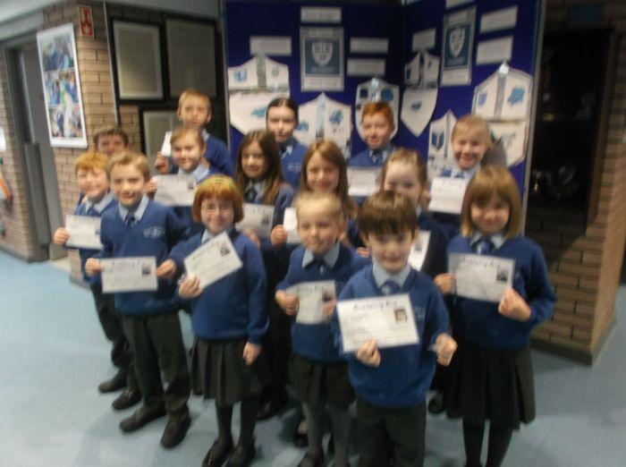 Academy Ace winners 18 November 2016