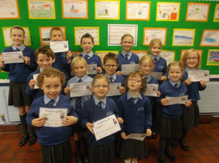 Academy Ace winners 11 November 2016