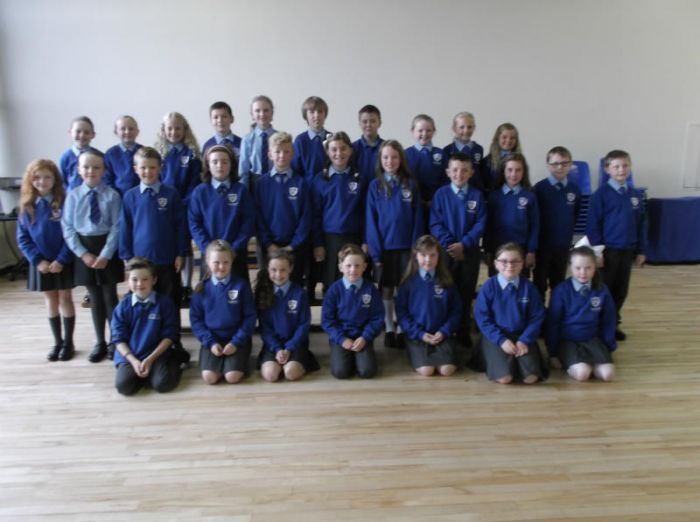 All looking smart for their first day. Welcome to P6E.