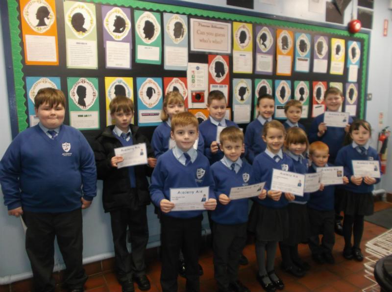 Academy Aces 18 January