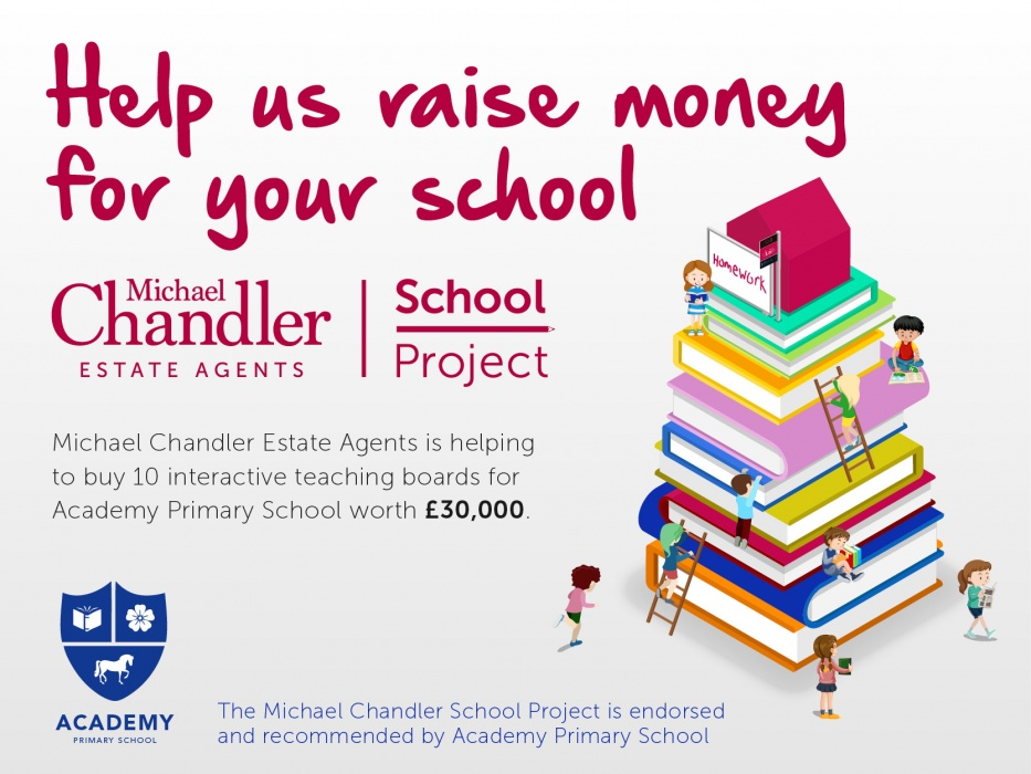 Read about our exciting Michael Chandler School Project