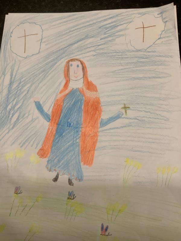 St Brigid By Caitlin