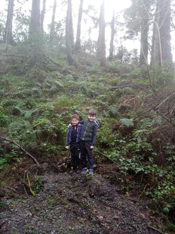 Exploring in the Glen