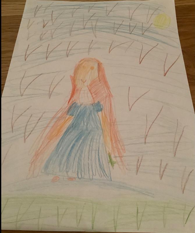 Alanna's Saint Brigid Picture