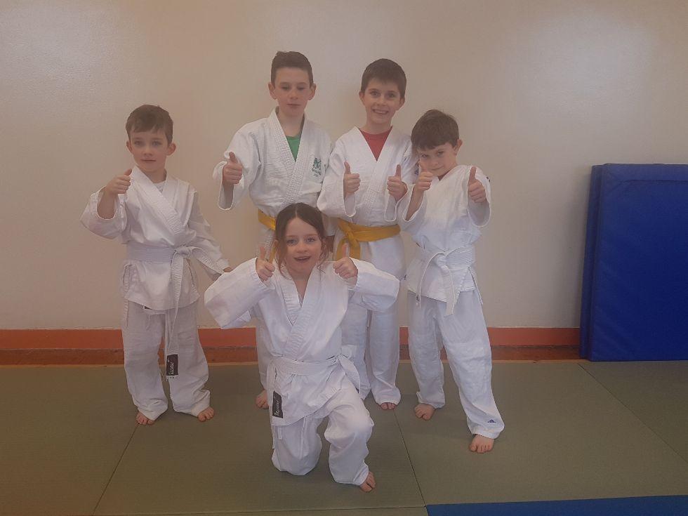 Judo club - NI primary schools champions