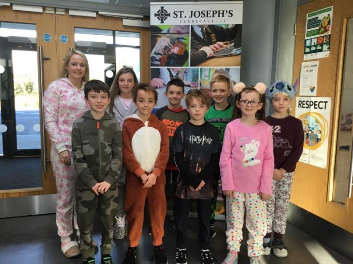 Our Student Council who organised the fundraiser