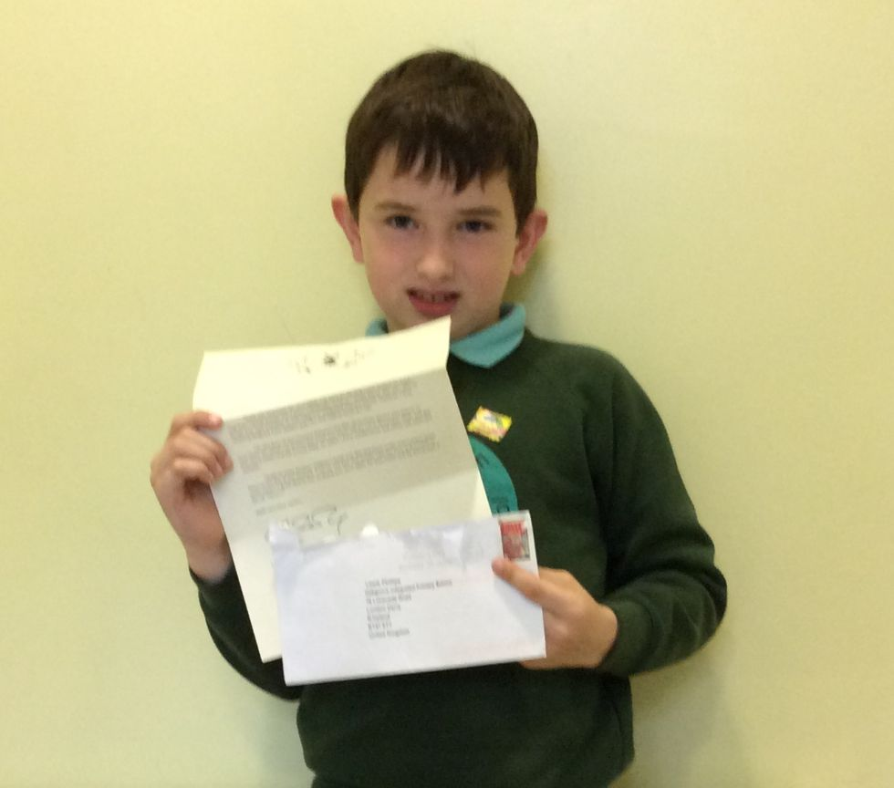 Lewis' Letter from J.K. Rowling
