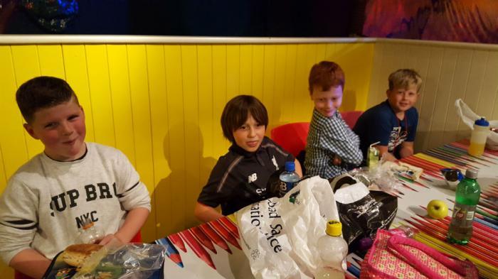 Shea, Jack, Alex and Charlie