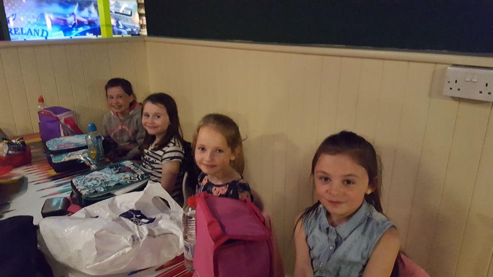 Jodie, Ellie, Orla and Eve