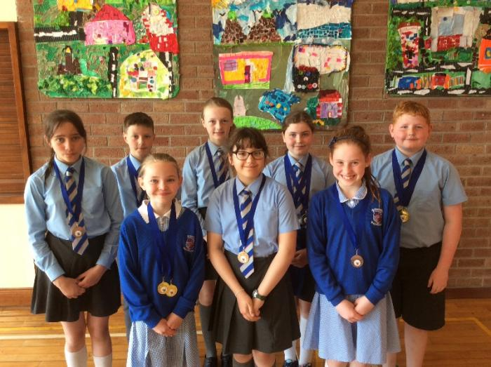 Front Crawl Medal Winners