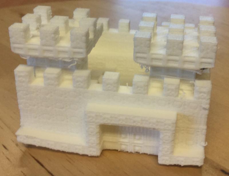 Nicola's built on 3D printer