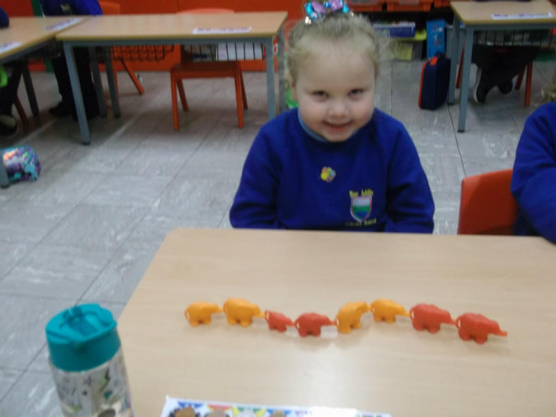 Look at my pattern with elephants.