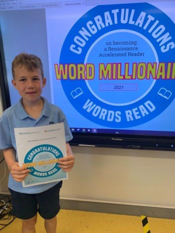 Daniel - Reading Millionaire!!