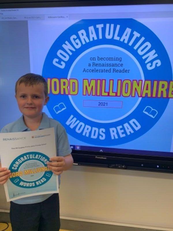 Rory - Reading Millionaire!!