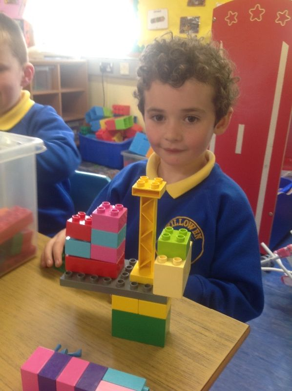 We've been designing and making our own creations. Here's a super crane.