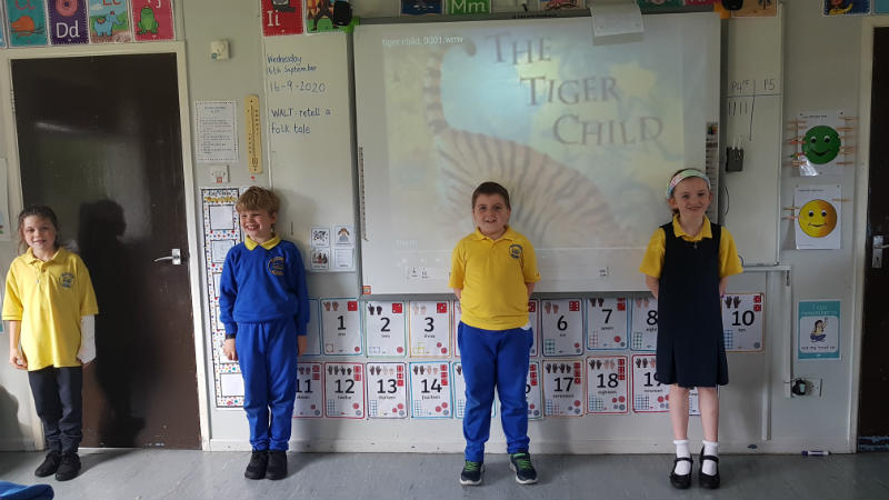 The Tiger Child - retold by P4/5