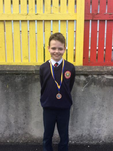 U11 Backstroke - Bronze Medal Winner