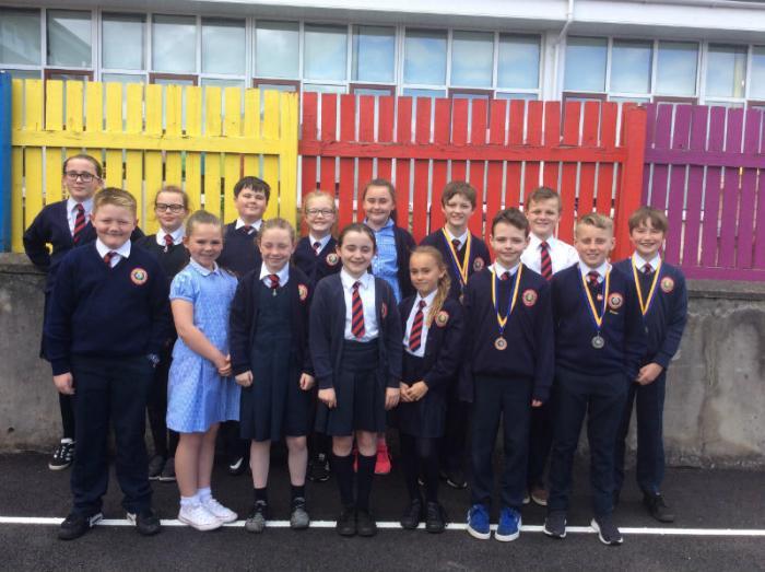 Holy Child Swimming Squad 2017