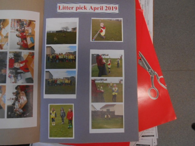 Some activities we are involved in, litter picking.
