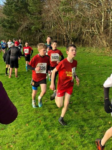 Conor, Sean and Dara setting the pace