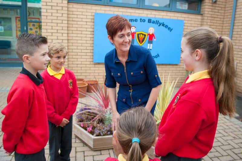 Mrs Sheeran, Principal
