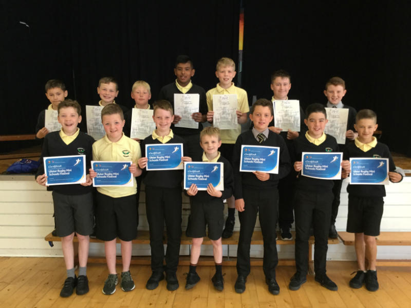 Rugby certificates