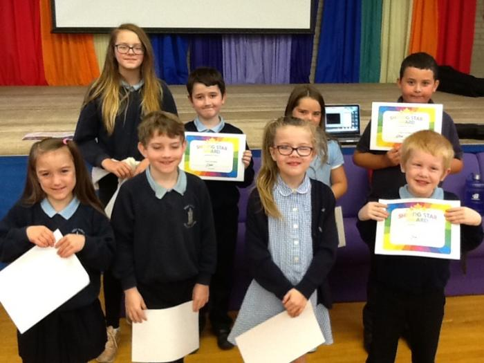 Pupils of the Week 16th June