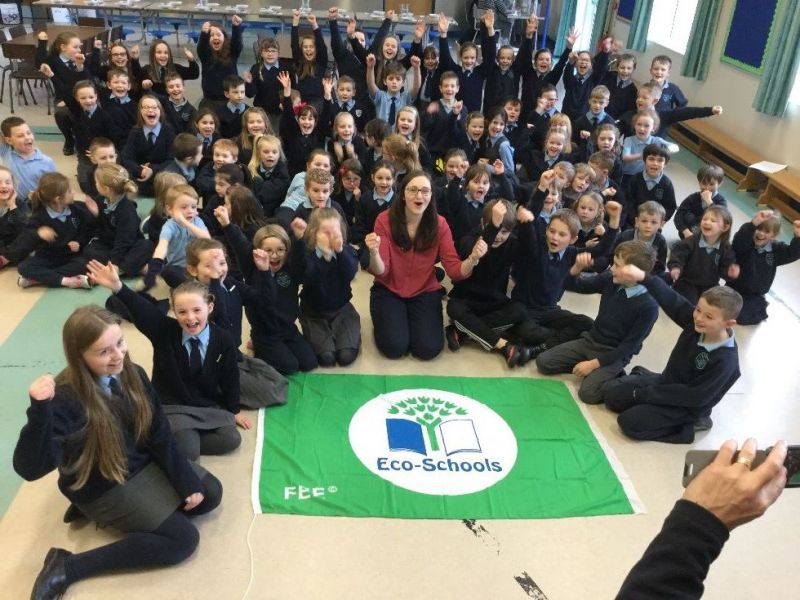 We achieved our Green Flag in January 2017!