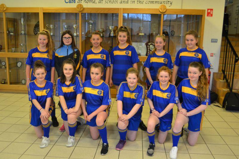 ERC's First Girls Gaelic Football Team 2017-18