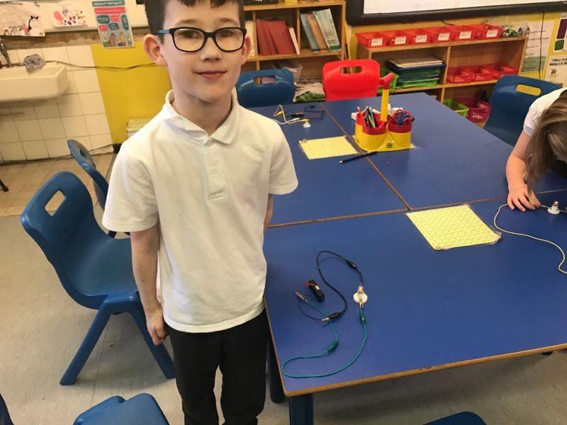 Creating a circuit to light a bulb