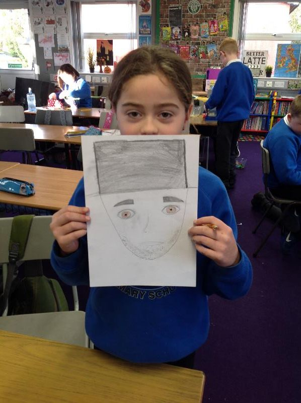 Our very talented P5 artist