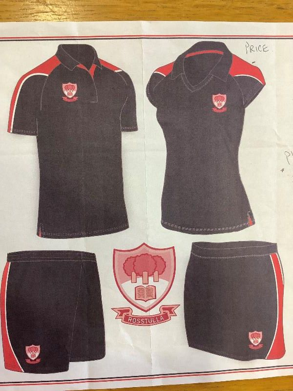 PE kit for Secondary Pupils. Shorts for boys or girls. Skort option for girls. Polo shirt for boys and v neck with collar for girls.