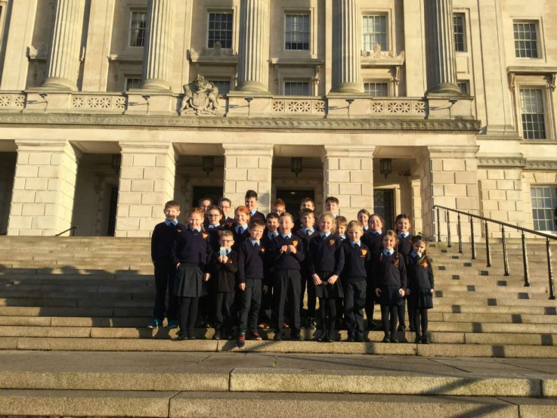 2017/18 School Council at Stormont