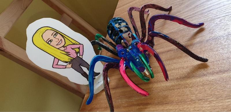 Building a 3D spider