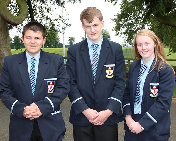 Carla, Matthew & Matthew obtained full marks in their year 11 module.