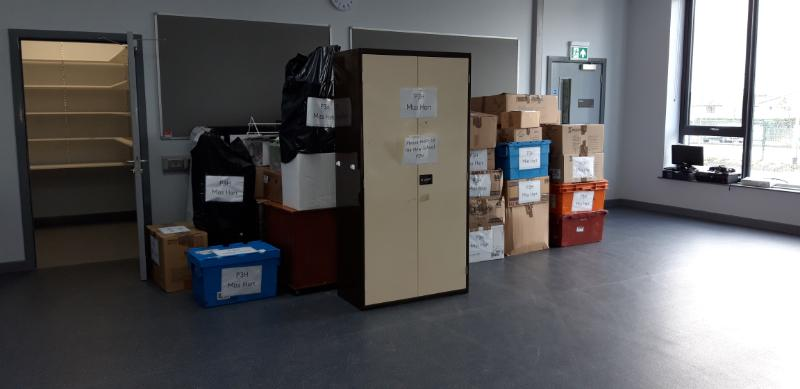 All P3H boxes in their classroom