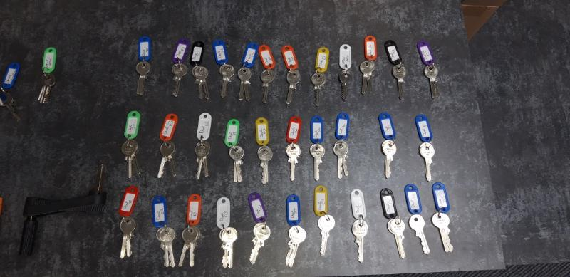 A selection of new keys!