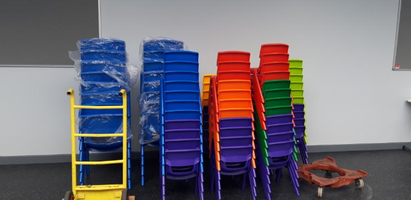 New pupil chairs