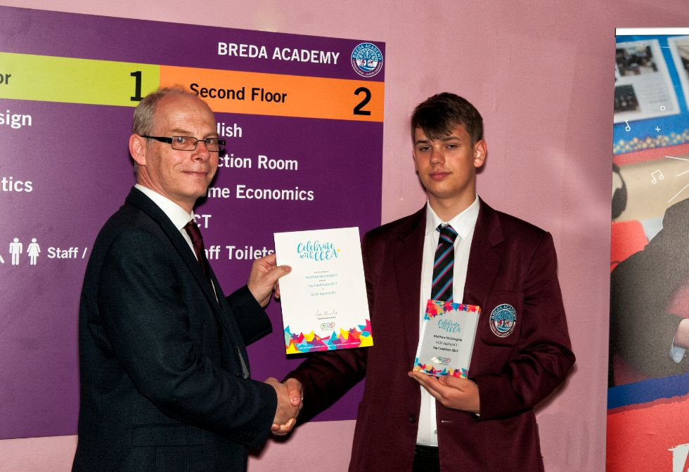 Top GCSE Candidate in Applied ICT