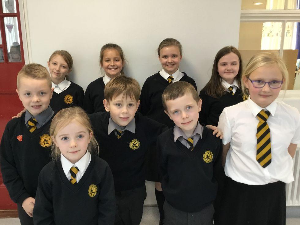 School Council class representatives for the 2018/19 school year