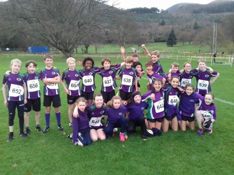 Our County cross country champions!