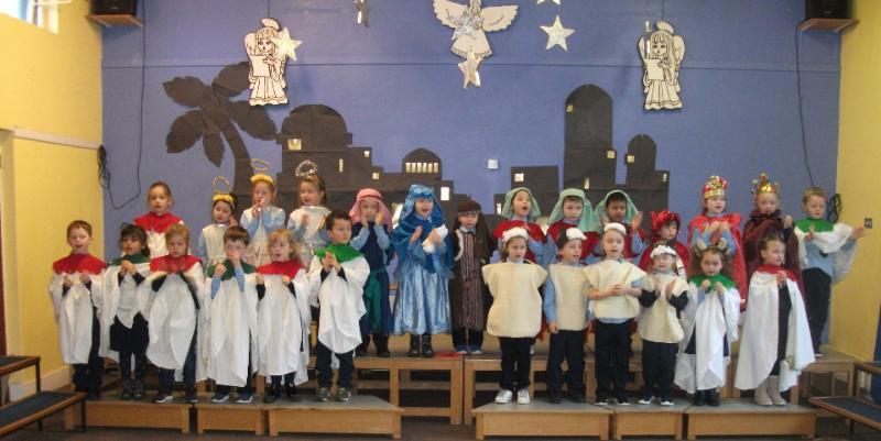 Junior Infants Christmas Play!