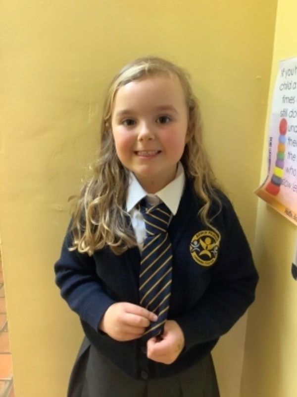 Our Primary 3 representative.