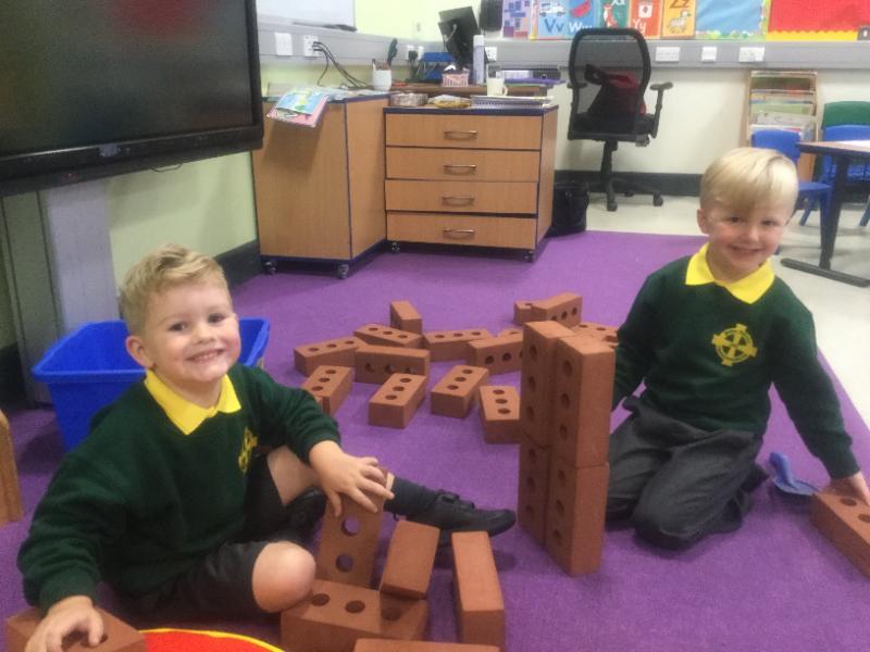 Building together!