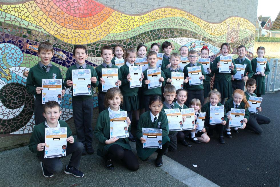 Mathletics Monthly Winners