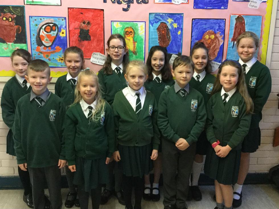 School Council members 2019-2020